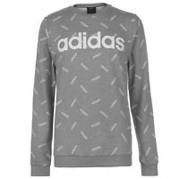 Mens adidas AOP Crew Sweatshirt Sweater Long Sleeve New
