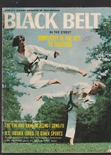 Black Belt Magazine Dec. 1972 The World'S Leading Magazine Of Self Defense