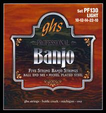 Ghs Pf130 GHS 5-str Banj Boule Extrémité LT