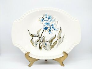 Vintage Salem China Plate Man Woman Blue Pink  6  12