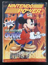 VINTAGE NINTENDO POWER MAGAZINE NES 44 W/MARIO PAINT BOOK, STICKERS & PROMOS!