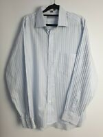 Geoffrey Beene Men's Long Sleeve Striped Shirt Size XL