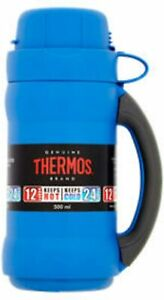 NEW Thermos Premier Glass Double Wall Flask 500ml Ideal for HOT OR COLD Drinks