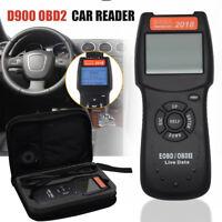 New Car Fault D900 Universal CODE Reader OBD2 EOBD CAN Diagnostic Scanner Tool