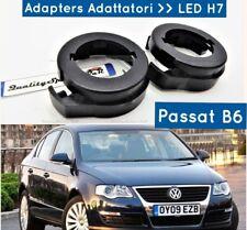 2 ADATTATORI Wolkswagen PASSAT B6 LED H7 BLOCCAGGIO Porta lampade TRASFORMAZIONE