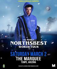 "LIL MOSEY ""NORTHSBEST WORLD TOUR"" 2019 PHOENIX CONCERT POSTER-Hip Hop,Trap Music"
