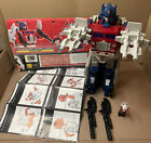 Vintage 87 Transformers G1 Powermaster Optimus Prime 1980s Hasbro 100% Complete For Sale