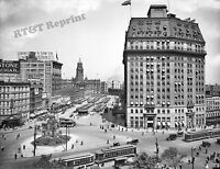 Photograph  Detroit Michigan Cadillac Square Year 1916  8x10