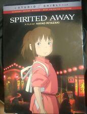 Spirited Away Dvd Brand New