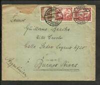 GERMANY 1933 COVER TO ARGENTINA, BLAKENBURG CANCEL, NICE