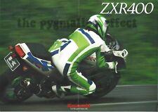 1994 Kawasaki ZXR400 ( ZXR400-L4 ) - Motorcycle Sales Brochure - Sales Pamphlet