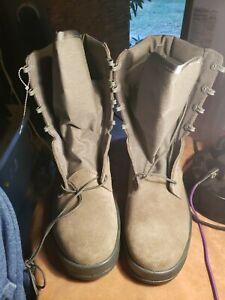 UFCW Vibram Mondo PT 8430 Military Steel Toe Boot USA Desert Tan Size 11.5W