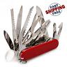 Multi-Functional Swiss 91mm Folding Knife Stainless Steel Multi Tool Knives