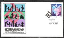 UN Vienna SC # 638 International Year Of The family FDC.UNPA