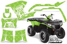 AMR Racing Polaris Sportsman800/500 Graphic Kit Quad Wrap ATV Decal 11-15 SSR W