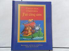 """livre enfant """"J'ai cinq ans"""""""