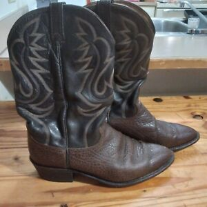 Dan Post Elk skin boots men's size 12