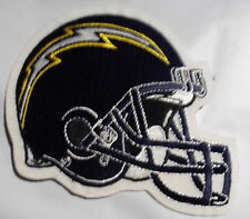 """SAN  DIEGO  CHARGERS   HELMET   PATCH   4"""" X 4""""      L  A   CHARGERS"""