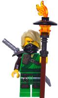 LEGO NINJAGO Lloyd Minifigure + Gear - Secrets of The Forbidden Spinjitzu 70671