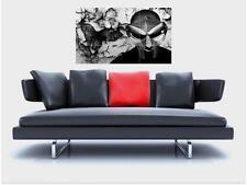 "MF DOOM BORDERLESS MOSAIC TILE WALL POSTER 35"" x 25"" HIP HOP MADVILLIAN"