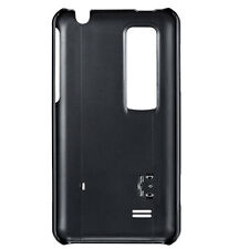 NEW LG OPTIMUS CCH-140 KICK STAND HARD SKIN CASE LG OPTIMUS 3D - BLACK