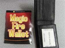 FIRE WALLET Magic Trick Flaming Wallet