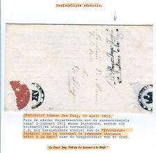 NEDERLAND 1812 STADSBRIEF BINNEN DEN HAAG ZIE TEKST....