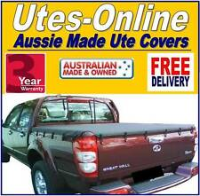 Great Wall V200 V240 Dual Cab Ute Tonneau Cover 2009 to Current