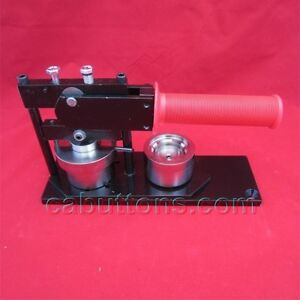 """1-1/4""""inch Tecre Button Badge Maker Machine Press + Graphic Punch + 2000 Buttons"""