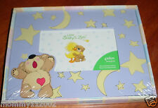 "Little Suzy's Zoo Picture Frame Boof purple yellow crescent moon star 4""x6"" New"