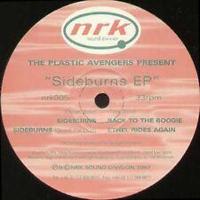 THE PLASTIC AVENGERS - Sideburns EP - 1997 NRK Sound Division - nrk005