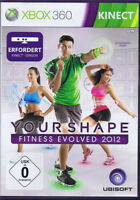 Kinect Your Shape Fitness Evolved 2012 Fitness Game - XBOX 360