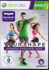 Kinect Your Shape Fitness Evolved 2012 Fitness GAME-XBOX 360