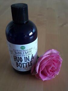 Hug in a Bottle Bubble Bath 250ml -Floral Rose