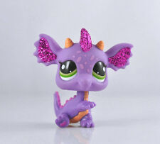 Littlest Pet Purple Dragon Child Girl Figure Toy Loose Cute LPS999