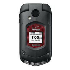 Kyocera E4520 DuraXV Push To Talk Verizon Rugged Flip Cellphone No Camera Black