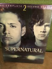 SUPERNATURAL The Complete 2 Second Season DVD SET Sealed NEW