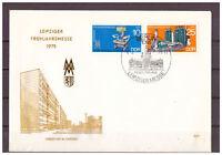 DDR, FDC Leipziger Frühjahrsmesse MiNr. 2023 - 2024, 1975 ESSt