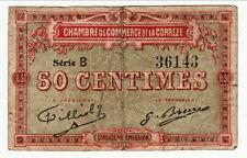 CORREZE  50 CENTIMES  1920