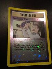 Professor Elm # 3 Reverse Holo Best of Game WOTC Promo NEAR MINT Pokemon Card