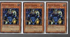 Yugioh Cards - Playset Of 3x Kinetic Soldier SDMM-EN010 1st Edition