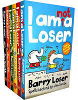Barry Loser Collection 6 Books Set by Jim Smith I am nit a Loser, I am Not A Los