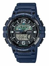 Reloj hombre Casio Anadigi WSC-1250H-2AVEF-Resina Azul-Fishing Gear-Fase lunar