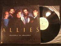 ALLIES - Shoulder To Shoulder - 1987 Vinyl 12'' Lp./Christian Rock