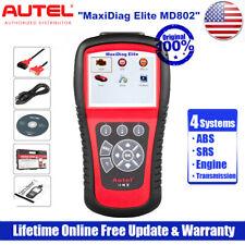 Autel MD802 OBD2 Automotive Transmission Engine ABS SRS Reset Diagnostic Scanner