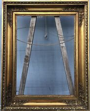 Prunkrahmen #2 Antik Empire Biedermeier Antique Gold um 1900 60,7 x 45 cm