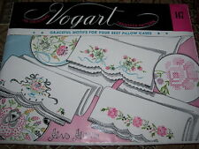 VINTAGE VOGART #147-GRACEFUL MOTIFS FOR PILLOWCASES HOT IRON TRANSFER PATTERN FF