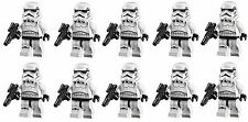 LEGO STAR WARS LOT OF 10 MINIFIGURES STORMTROOPER MINIFIG 75159 75055 75060