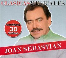 Joan Sebastian CD NEW Clasicas Musicales SET Contiene 30 Exitos En 2 CDs SEALED