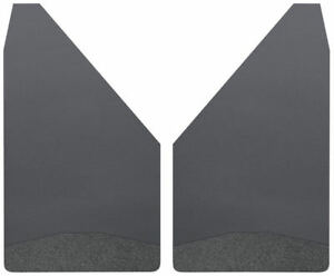 """Husky Liners Universal Mud Flaps 14"""" Wide - Black Weight"""